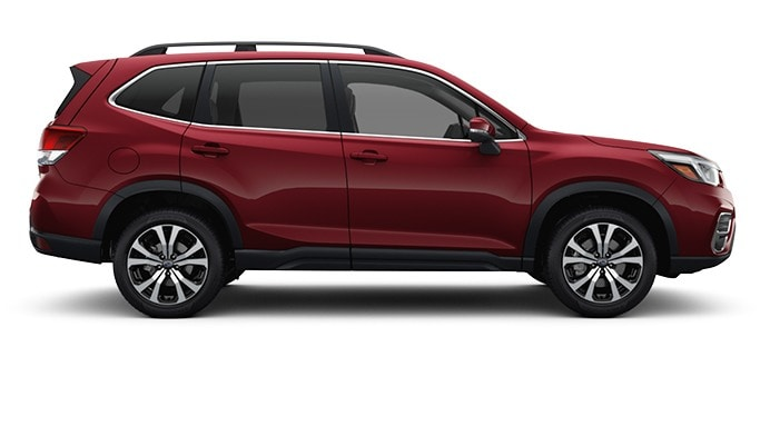 2020 Forester in Crimson Red Pearl