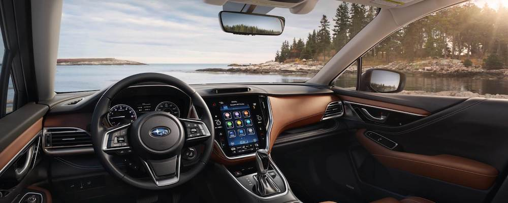 2020 Outback dashboard