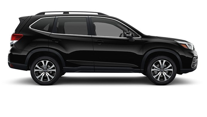 2020 Forester in Crystal Black Silica