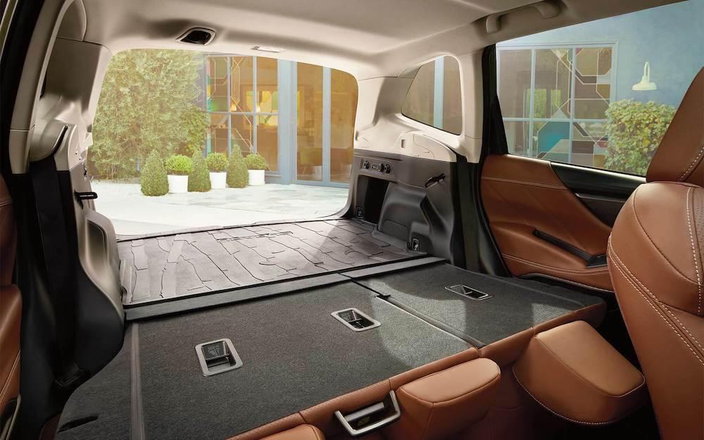2020 Subaru Forester cargo area