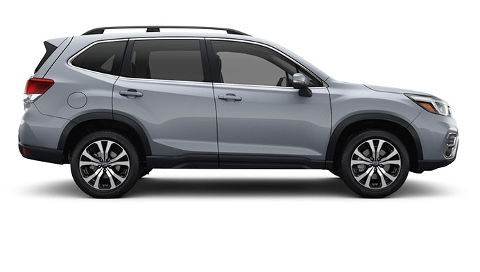 2020 Forester in Ice Silver Metallic