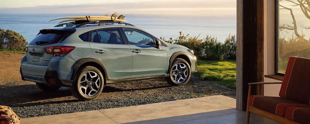 Parked 2020 Subaru Crosstrek