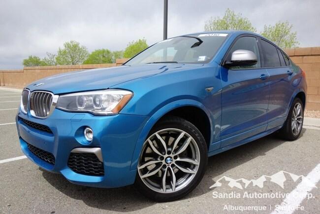 2016 BMW X4 M40i Sports Activity Coupe