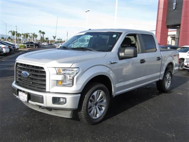 2017 Ford F-150 XL CREW CAB SHORT BED TRUCK