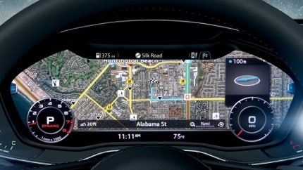 Google Earth in dashboard