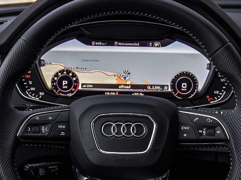 2018 Audi Q5 Virtual Cockpit Display