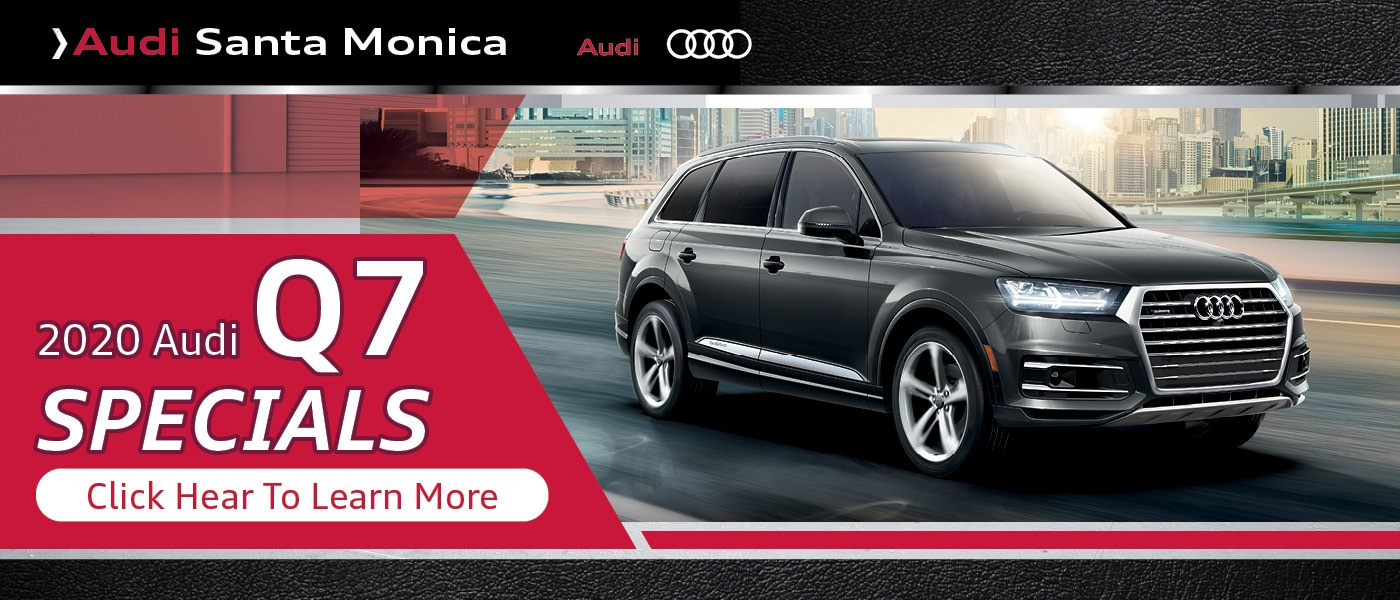 Click Here for 2020 Audi Q7 Specials