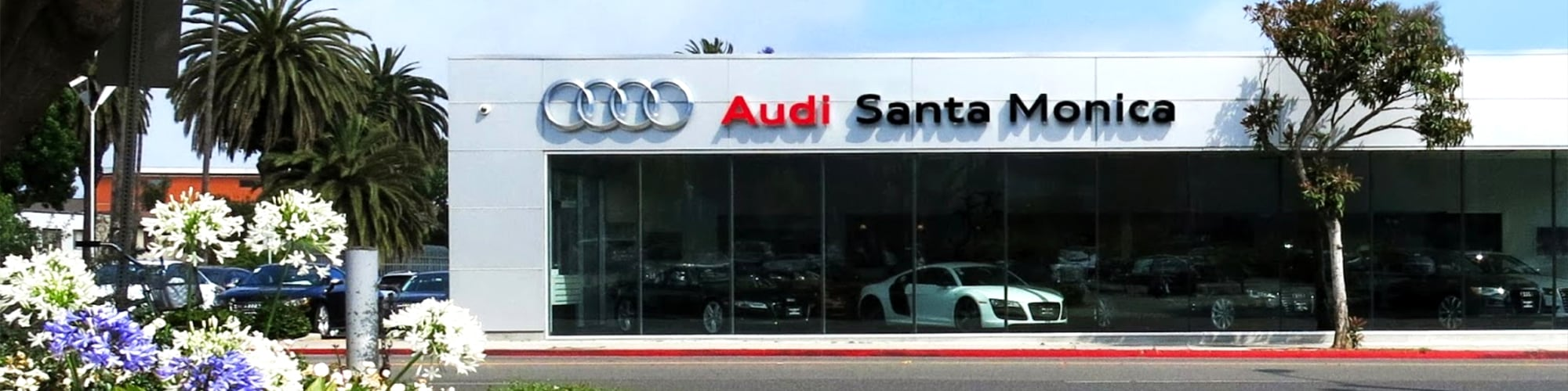 Santa Monica Audi new and used car dealership