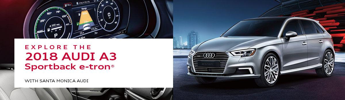 Audi A3 Sportback E Tron Model Review Near Los Angeles Santa