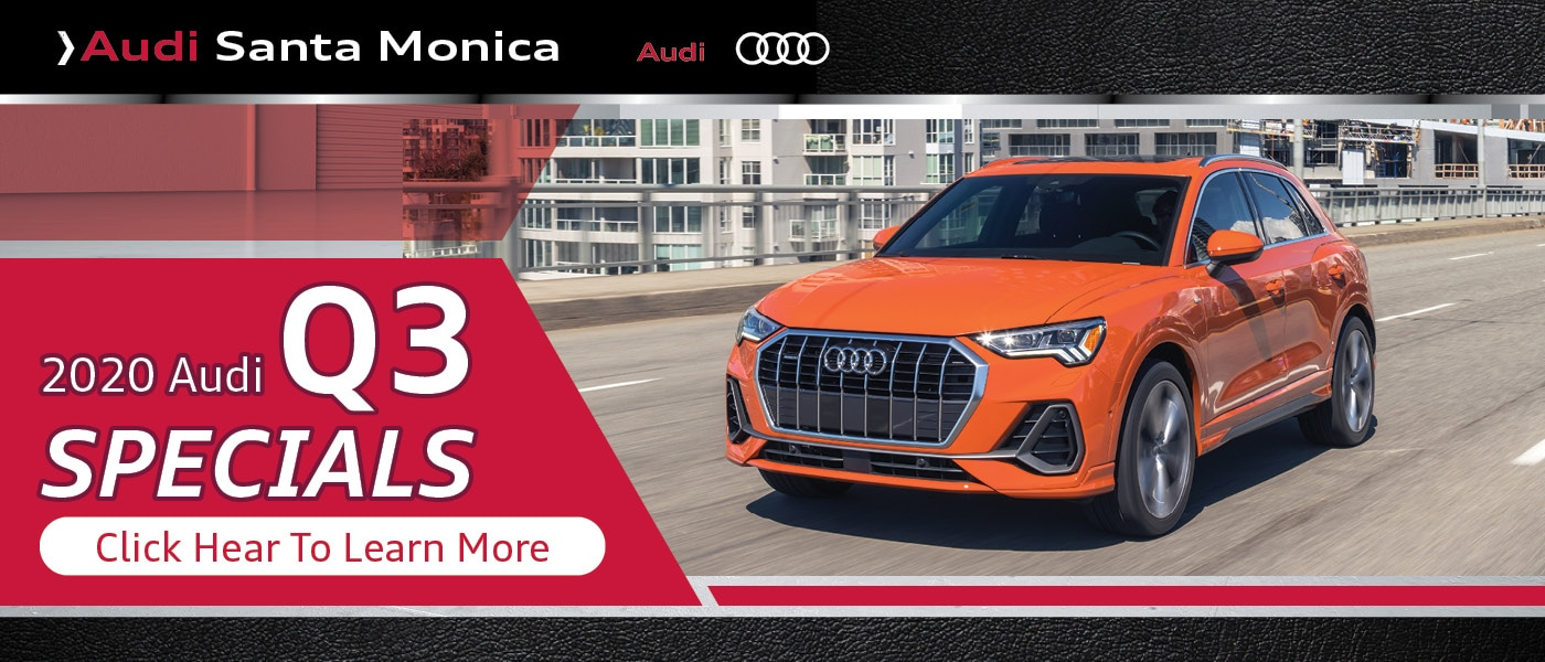 Click Here for 2020 Audi Q3 Specials