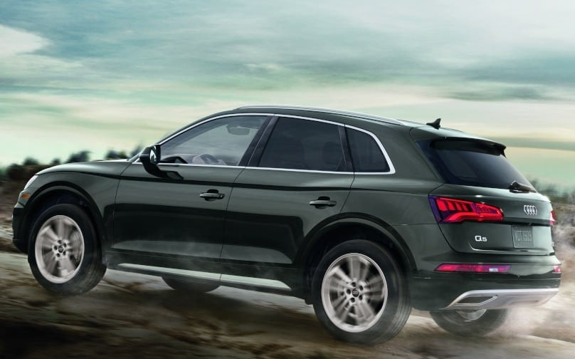 2019 Audi Q7 on road Performance