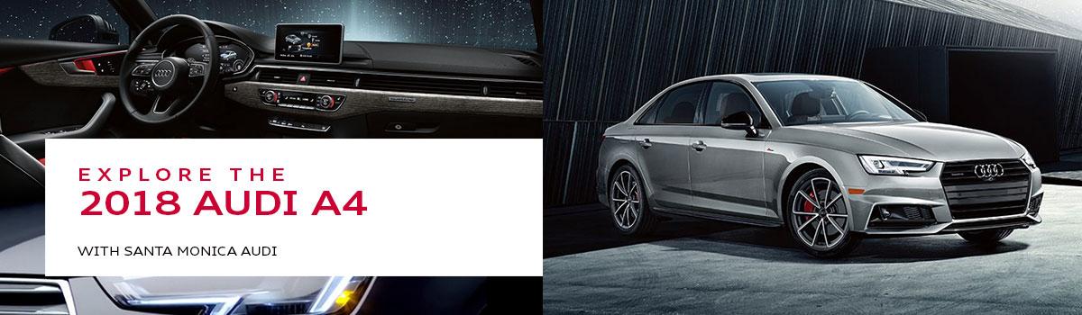 Audi A4 Model Review In Santa Monica