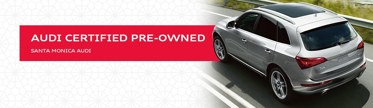 Audi certified pre-owned overview and warranty details explained