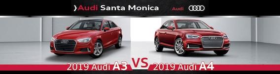2019 Audi A3 Vs A4 Comparison Of Size Specs Design And