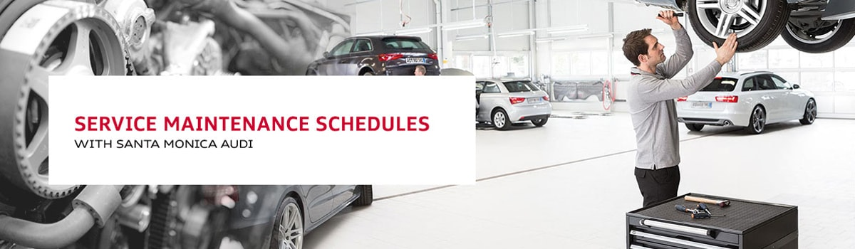 Audi Service Maintenance Schedules