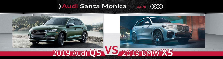 2019 Audi Q5 Vs 2019 Bmw X5 Specs Design Features Santa Monica