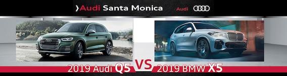 2019 Audi Q5 vs  2019 BMW X5: Specs, Design, Features