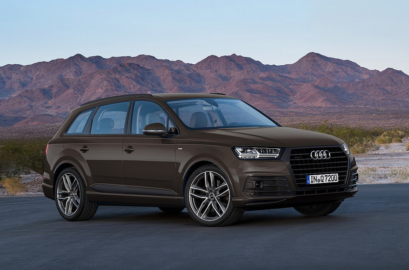 2018 Audi Q7 Argus Brown Metallic Titanium-Black Optics Package