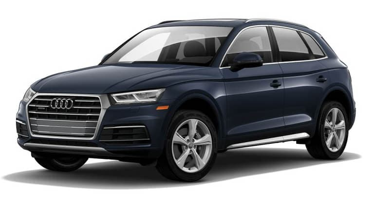 2020 Audi Q5 Premium Plus - Moonlight Blue