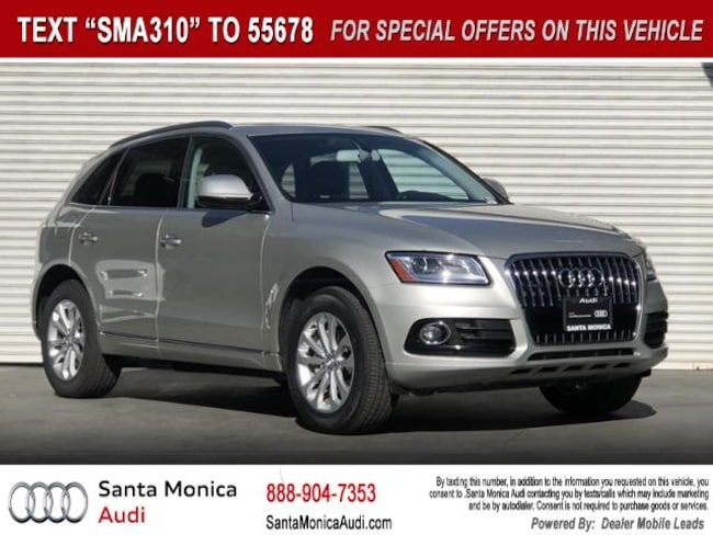 Certified Used 2016 Audi Q5 2.0T Premium SUV near Los Angeles