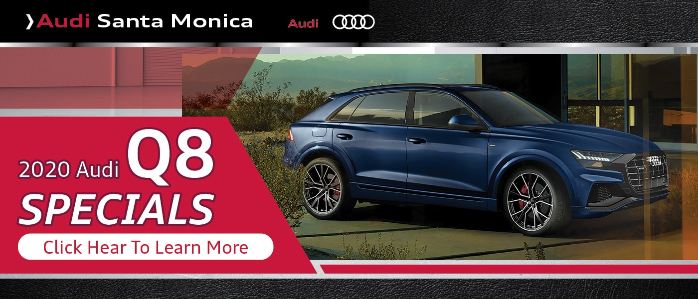 Click Here for 2020 Audi Q8 Specials