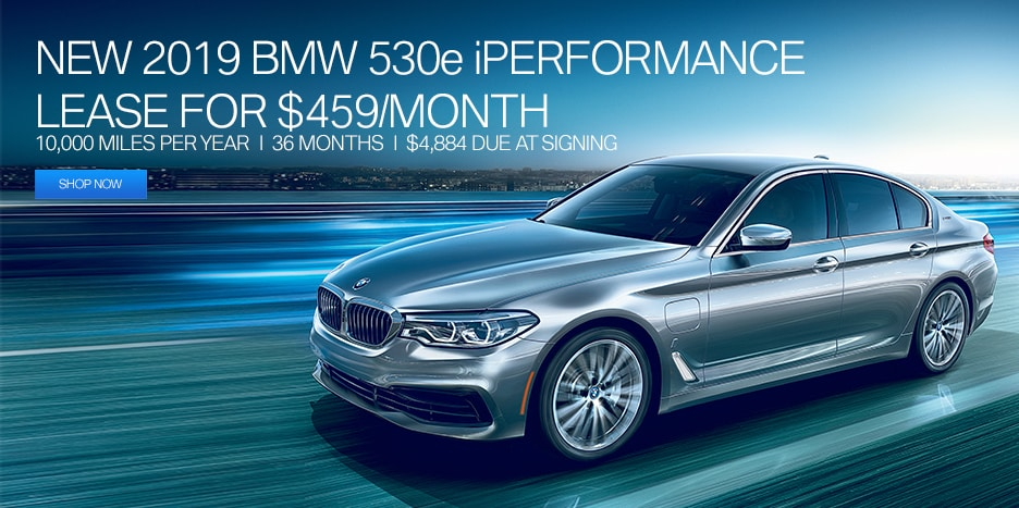 2019 BMW 530e iPerformance Lease Offer