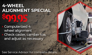 4 Wheel Alignment Special