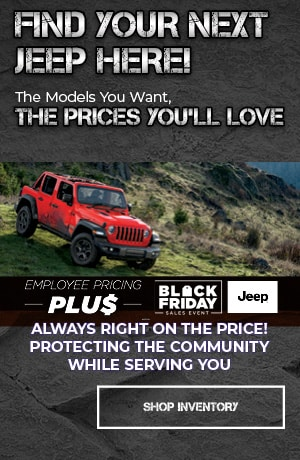 November | Find Your Next Jeep Here! | Special