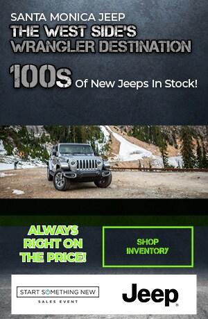 Santa Monica Jeep The West Side's Wrangler Destination