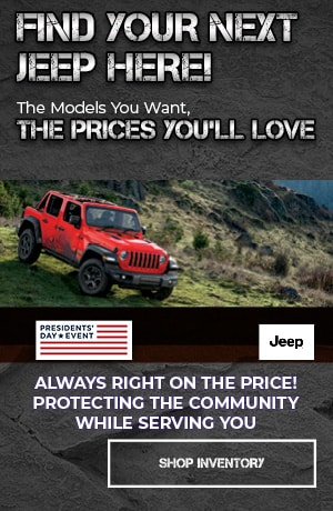 February Jeep Destination