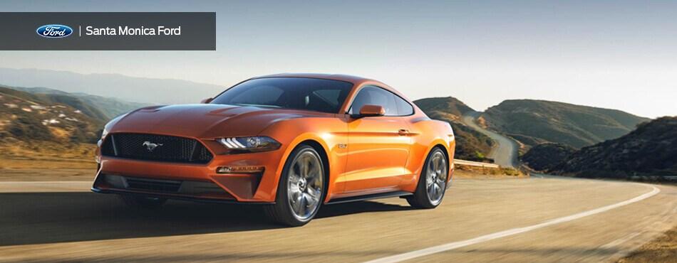 2018 Ford Mustang Sports Car Smford Com Santa Monica Ford