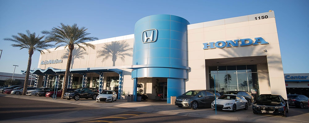 Amazing Honda Dealership Serving Mesa