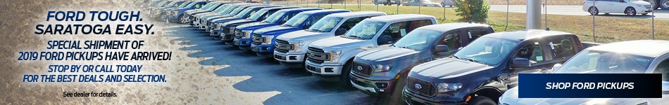 Special Shipment of 2019 Ford Pick-Ups