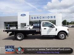 New 2019 Ford F-350SD XL w/12' Knapheide Platform Bed Truck Regular Cab in Randolph, OH