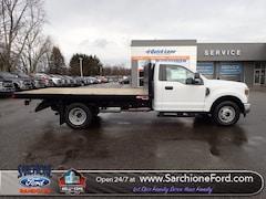 New 2019 Ford F-350 SD XL w/12' Monroe Platform Bed Truck Regular Cab in Randolph, OH