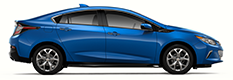 2018 Chevrolet Volt plug-in electric car.