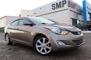 2013 Hyundai Elantra Limited- Heated Front & Back, Bup Cam, BTooth Sedan