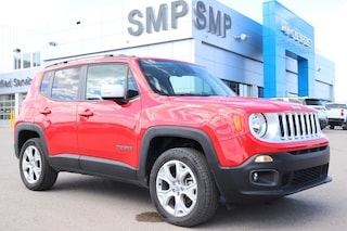 2018 Jeep Renegade Limited - Htd Leather, Nav, Sunroof SUV