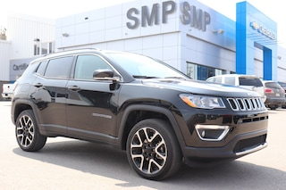 2018 Jeep Compass Limited- Htd Leather, Sunroof, Nav, R. Start, Pwr SUV