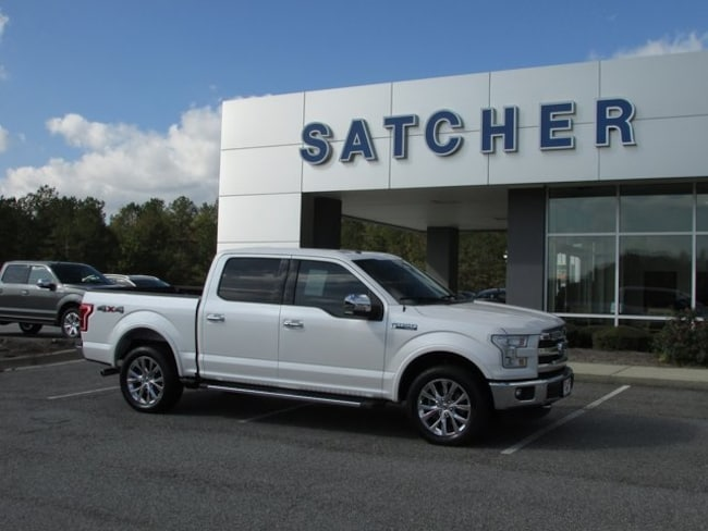 Used 2015 Ford F-150 Lariat Truck Evans GA