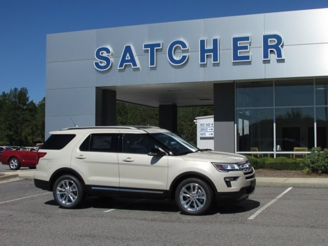 New 2018 Ford Explorer XLT SUV Evans GA