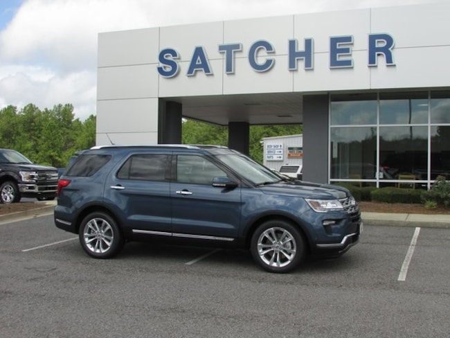 New 2018 Ford Explorer Limited SUV Evans GA