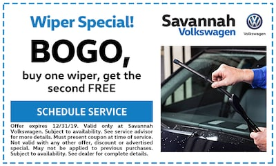 BOGO, buy one wiper, get the second FREE