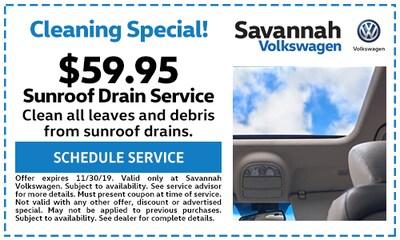 Sunroof Drain Service - $59.95
