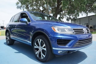 new 2017 Volkswagen Touareg V6 Wolfsburg Edition (A8) SUV for sale in Savannah