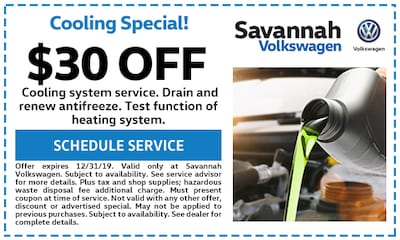 $30 off Cooling System Service