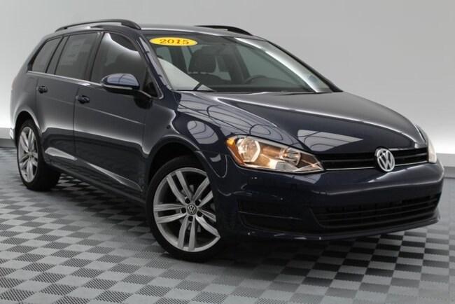 2015 Volkswagen Golf SportWagen TDI Wagon
