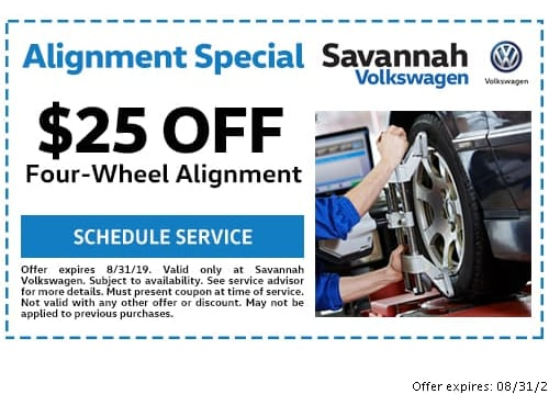 VW Service Coupons Savannah GA   Savannah Volkswagen