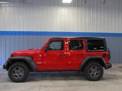 New 2018 Jeep Wrangler UNLIMITED SPORT S 4X4 Sport Utility in Rochelle, IL