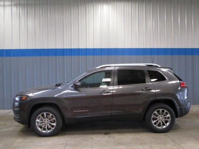 New 2019 Jeep Cherokee LATITUDE PLUS 4X4 Sport Utility in Rochelle, IL